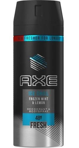 axe ice chill desodorante 150ml x3 unid farmaservis