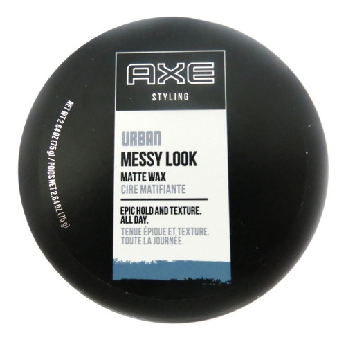 axe styling urban messy look matte wax 75g