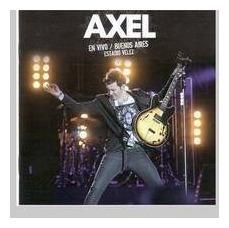 axel en vivo buenos aires estadio velez cd + dvd nuevo