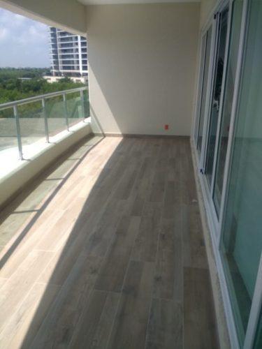axent by isola. departamento en venta, 2 recs./2baños, 153 m2. sobre ave. bonampak, puerto cancún