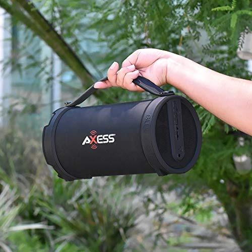 axess spbt1033-rd - altavoz portatil (bluetooth cilindro hi-