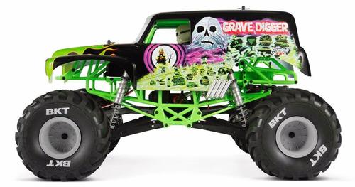Axial Ax90055 Smt10 Grave Digger Monster Jam Mega Oferta ...