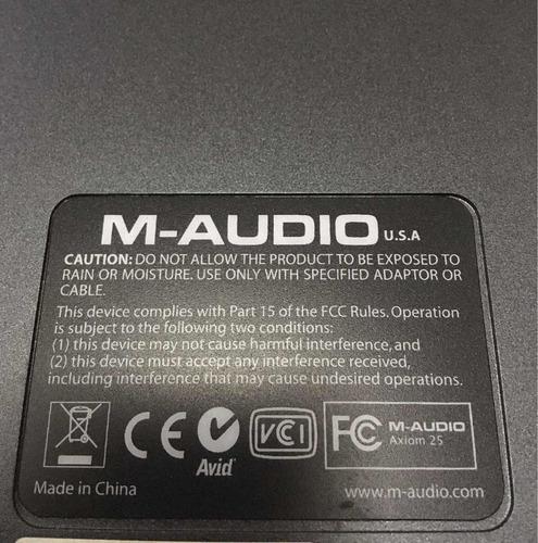 axiom 25 m-audio