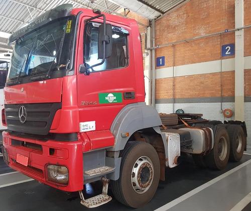 axor 3344s - 2010 - vermelho - rodoforte caminhoes