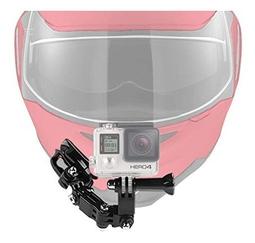 axpower motorcycle helmet chin mount kits for gopro hero 4 5