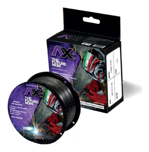 axt-mags030 rollo microalambre tubular (no gas), 1kg, 0.030