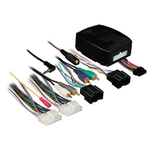 axxess omg-lan-02 gm / lan amplificado integrado arnés para