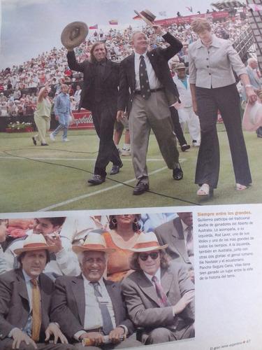 ayer y hoy el gran tenis argentino-clarin/consultarstock