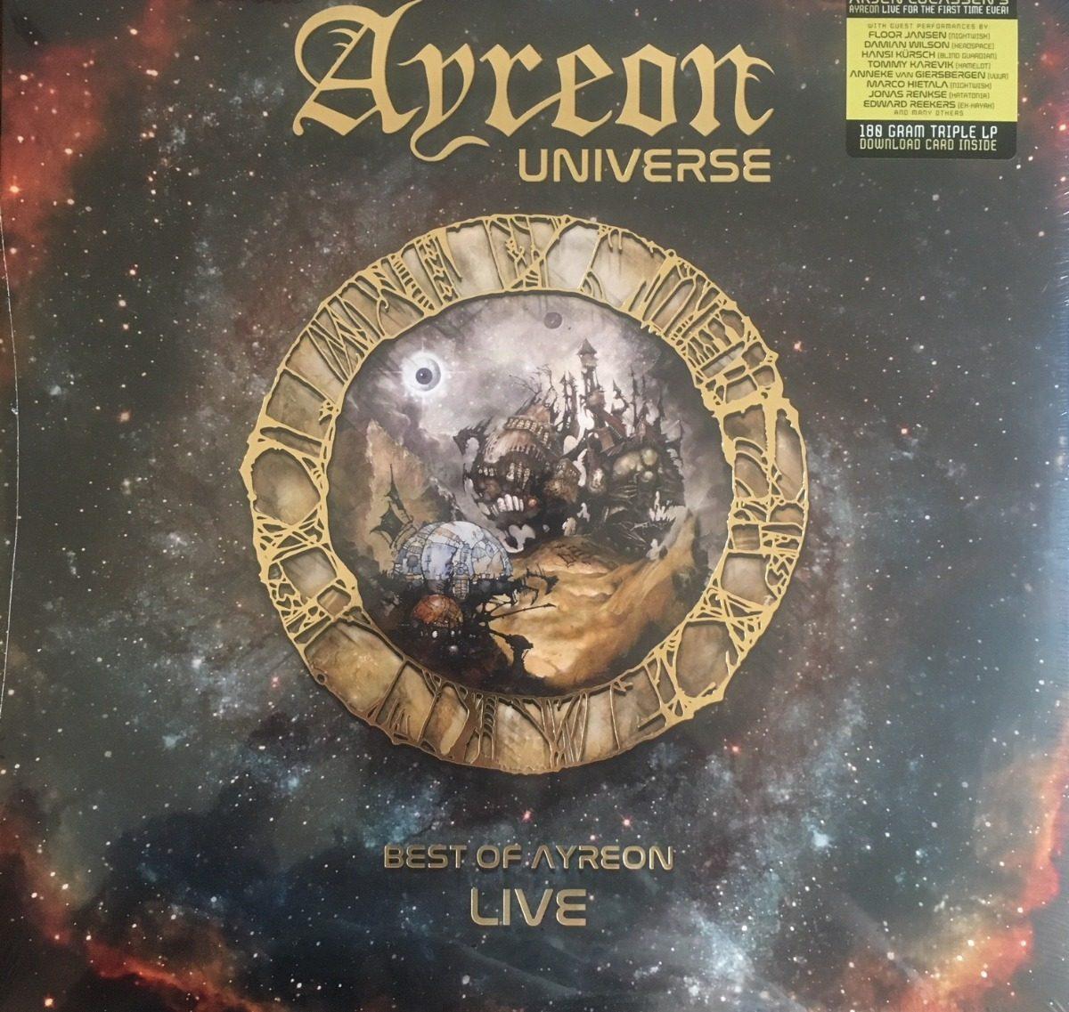 Ayreon Universe Best Of Ayreon Live Ltd 3lp Mp3 Vinyl