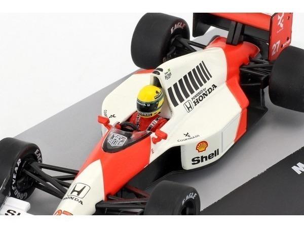 McLaren MP4//4 Ayrton Senna San Marino GP 1988 escala 1-43 nuevo en caso