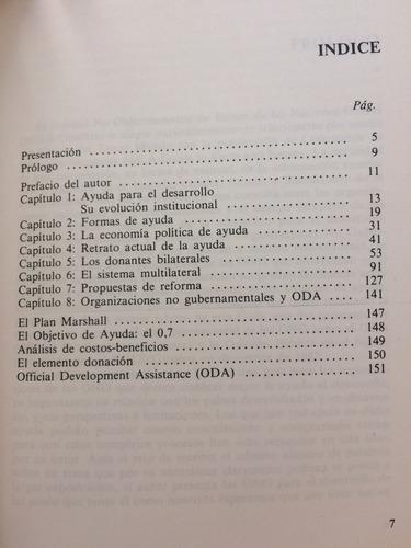ayuda al desarrollo, datos y problemas