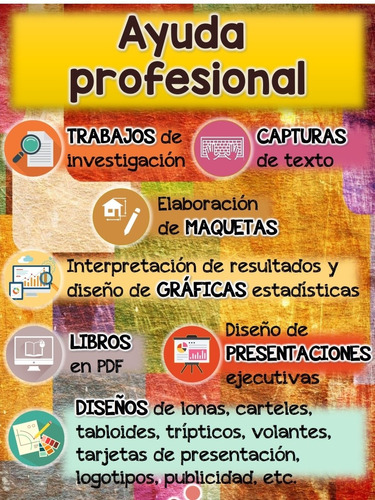 ayuda profesional en todo tipo de trabajos