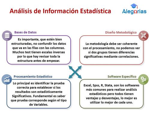 ayuda tesis en procesamiento estadístico e investigación