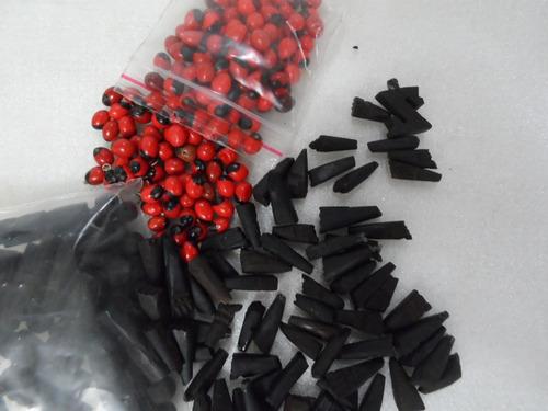 azabaches con pionia para engaste en orfebreria -pack 10 uds