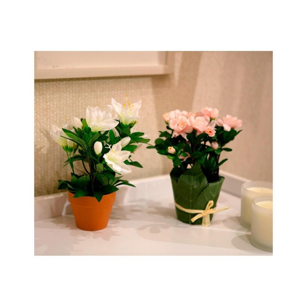 5b9a75777 Azaleia Artificial 24cm Rosa - R$ 35,99 em Mercado Livre