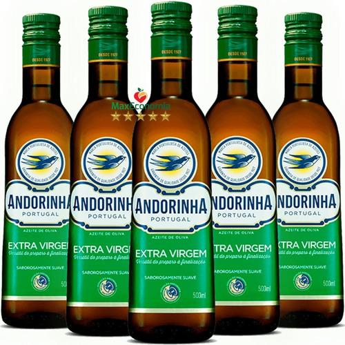 azeite de oliva extra virgem andorinha - kit com 6x500ml