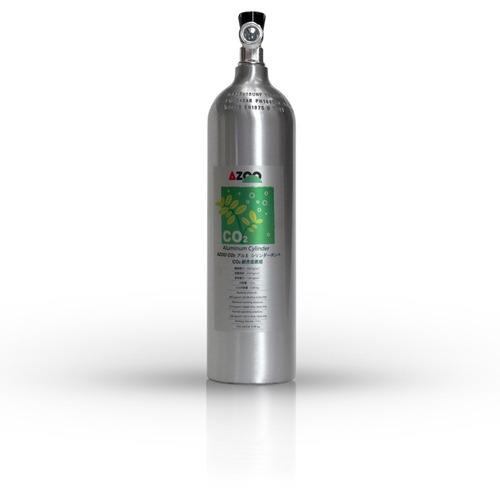 azoo cilindro para co2 de alumino 1lt acuario plantado