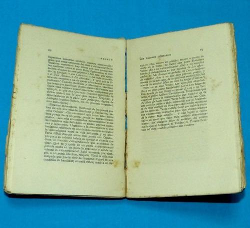 azorín los valores literarios rafael caro raggio 1921 antigu