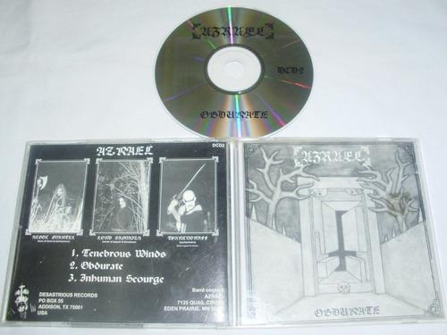 azrael - obdurate ( black metal)