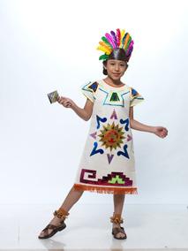 dedbaae868 Vestidos Prehispanicos Aztecas en Mercado Libre México