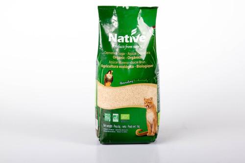 azúcar de caña orgánica native 1 kg.