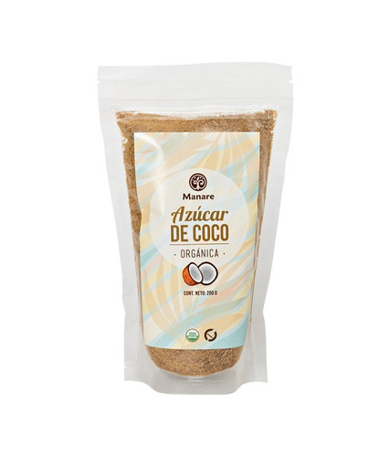 azúcar de coco orgánica 250 grs