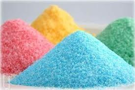 azucar de colores para preparar algodones