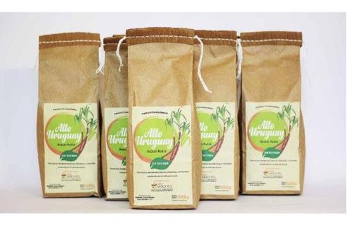 azúcar rubia orgánica (sin refinar) saludable - pack 8kg