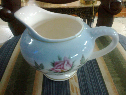 azucarera en porcelana importada clasica de coleccion
