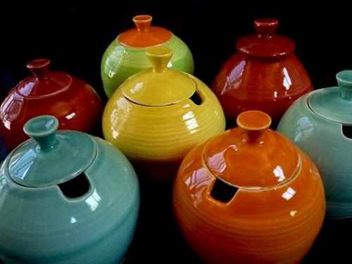 azucarera yerbera cerámica artesanal regalo mate dulcera