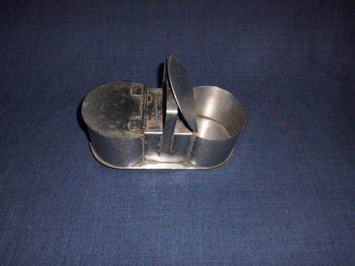 azucarera - yerbera , de metal