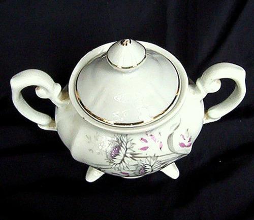 azucarero porcelana royal kent d colección adorno de vitrina
