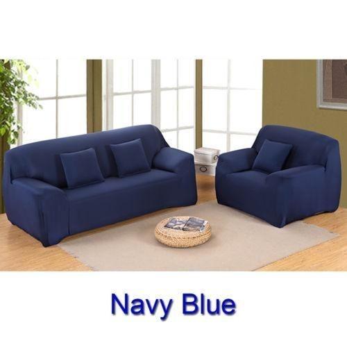 Azul 3 Seats Sofa Forma De L Tramo Silla 422786933207