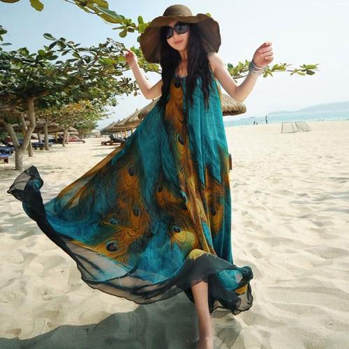 azul 3xl suelto swing tunic tanque vestido de playa