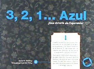 azul 4 de 8. 3, 2, 1 azul(libro infantil y juvenil)