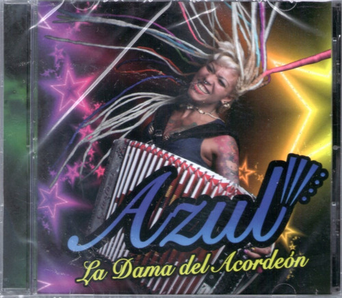 azul carrizo - la dama del acordeon cd 2016 - los chiquibum