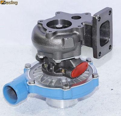 azul emusat3/t4 híbrido turbo cargador.50 a/r compresor