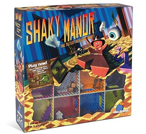 azul naranja juegos temblorosas manor juego para la familia
