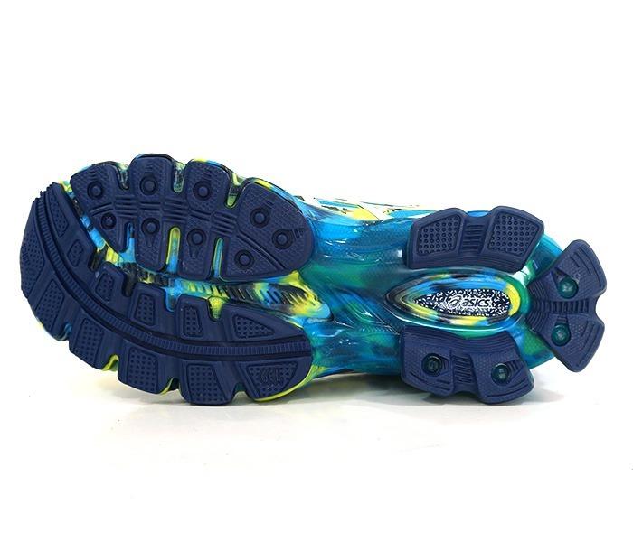 0e0495d99cf Azul Tênis Asics Gel Sendai 2 E Amarelo Limão - R  320