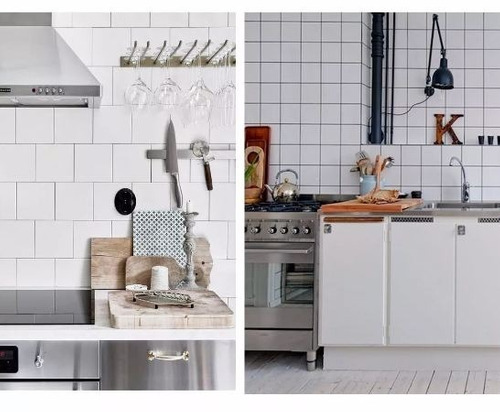 azulejo 15x15 cm blanco brillante cocina baño decoracion 1ra