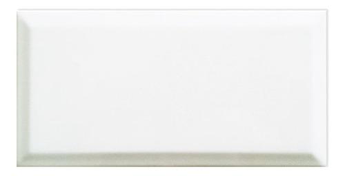 azulejo acuarela biselado blanco brillante 7.5x15 new york