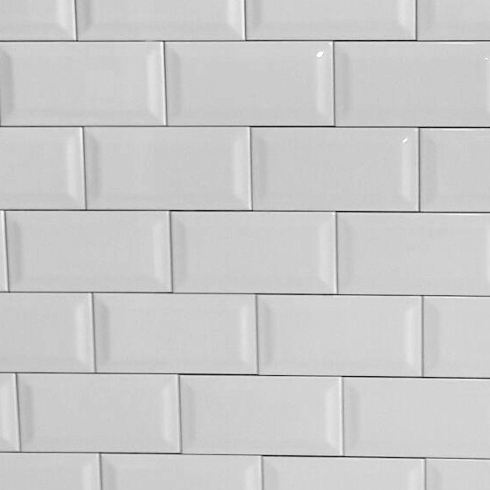 Azulejos blancos charmant baos con azulejos blancos avec for Azulejo blanco biselado