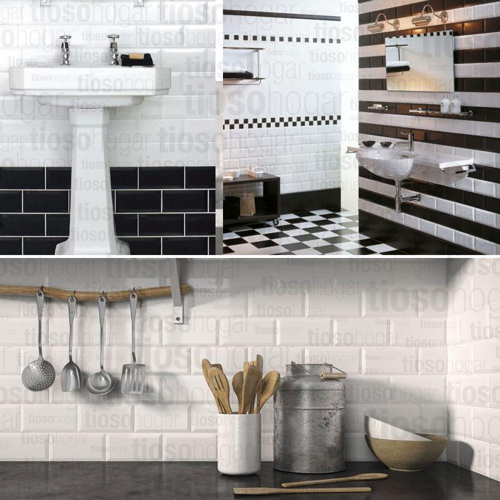 Azulejos blancos cocina azulejo blanco cmo renovar las - Azulejos blancos ...