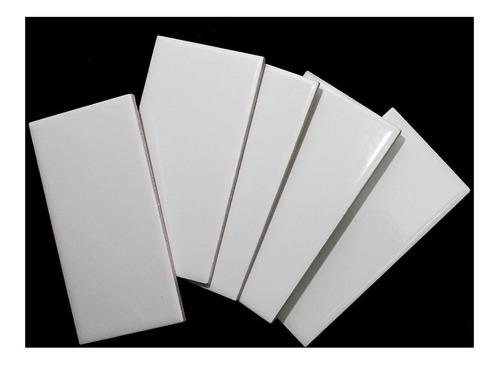 azulejo blanco brillante 7.5x15.4 1ra calidad roca incepa