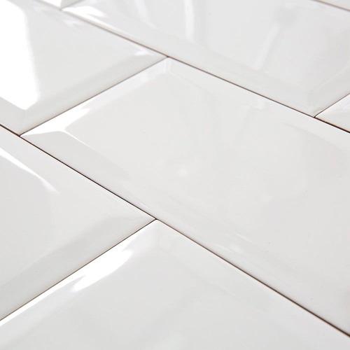 azulejo blanco subway 10x20 eliane white azulejo