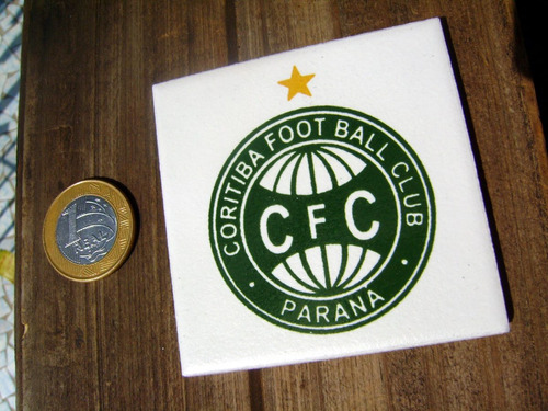 azulejo do coritiba foot ball club coxa / 7,5 cm