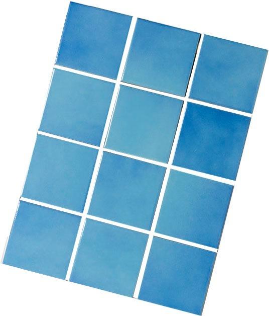 Azulejo para piscina cor azul itapu 10x10 telado - Azulejos para piscina ...