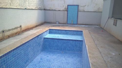 Azulejo para piscina cor mesclado itapu azul 10x10 for Azulejo para piscina