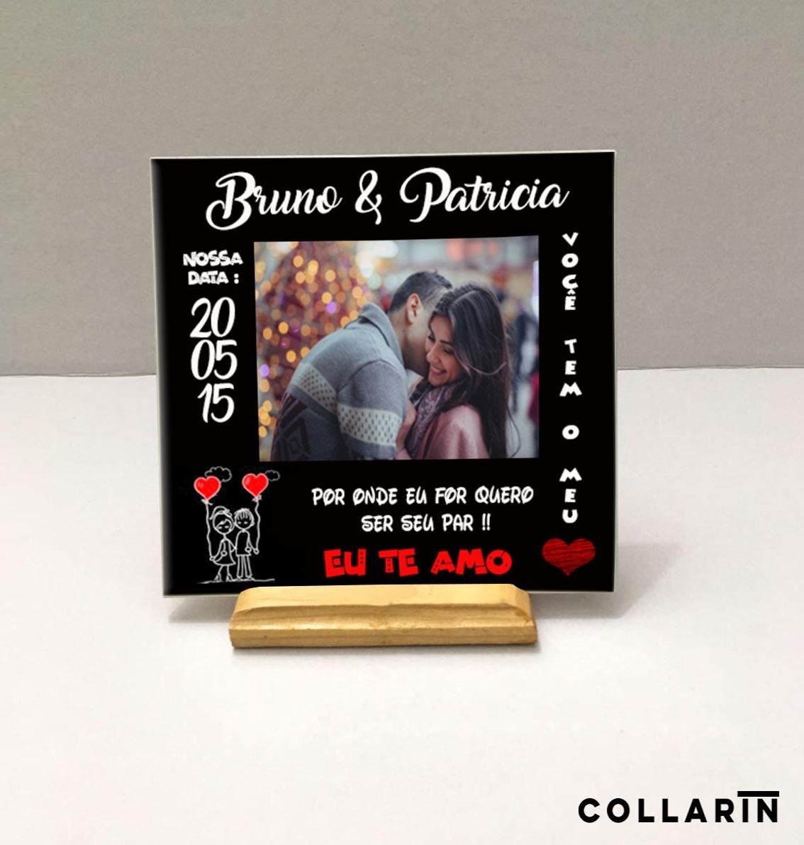 c9eaee3024e348 Azulejo Personalizado Com Foto Presente Dia Dos Namorados