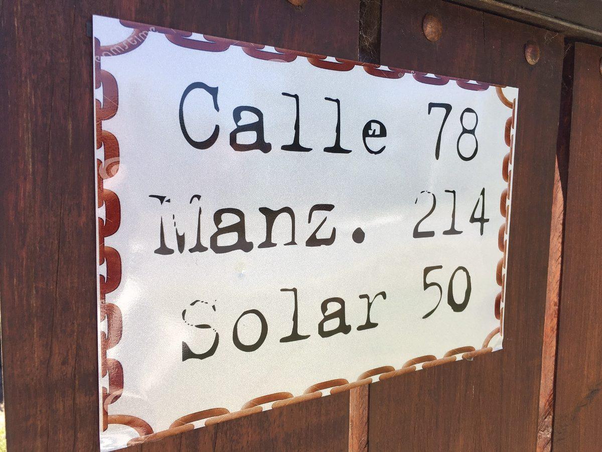 Azulejo plaqueta impresa n mero de puerta casa oficina for Azulejo numero casa